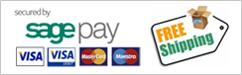 Sage Pay & Free Shipping